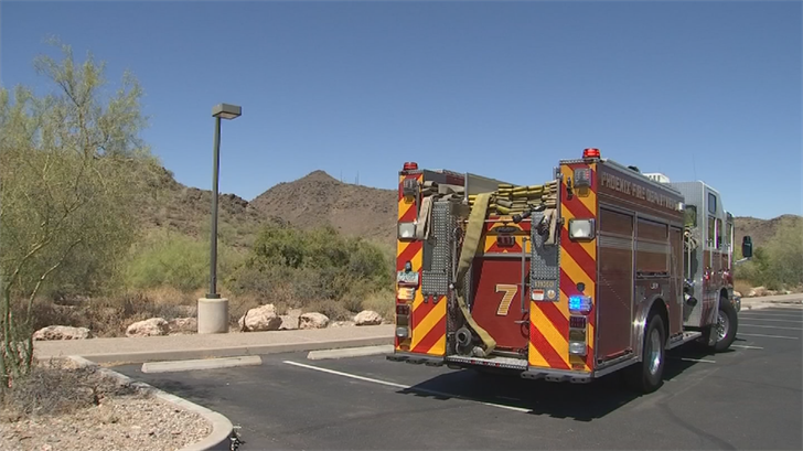 The total number of hikers needing rescue this year from Phoenix mountain trails stands at 133 as of Tuesday evening. (Source: 3TV/CBS 5)