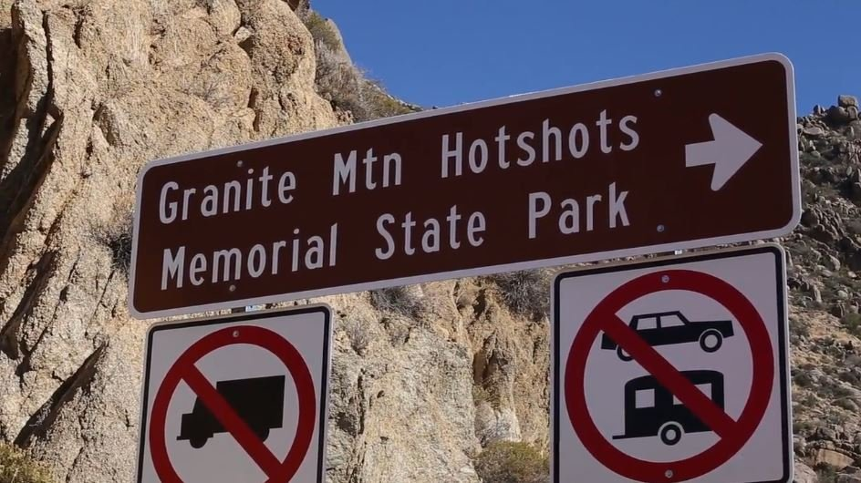 A shuttle service was proposed for the Granite Mountain Hotshots Memorial Park last week. (Source: Arizona State Parks)