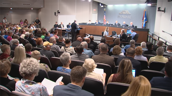 On Monday, the Mesa City Council voted 4-2 to privatize its jails, saying it will save the Mesa about $1 million a year. (Source: 3TV/CBS 5)