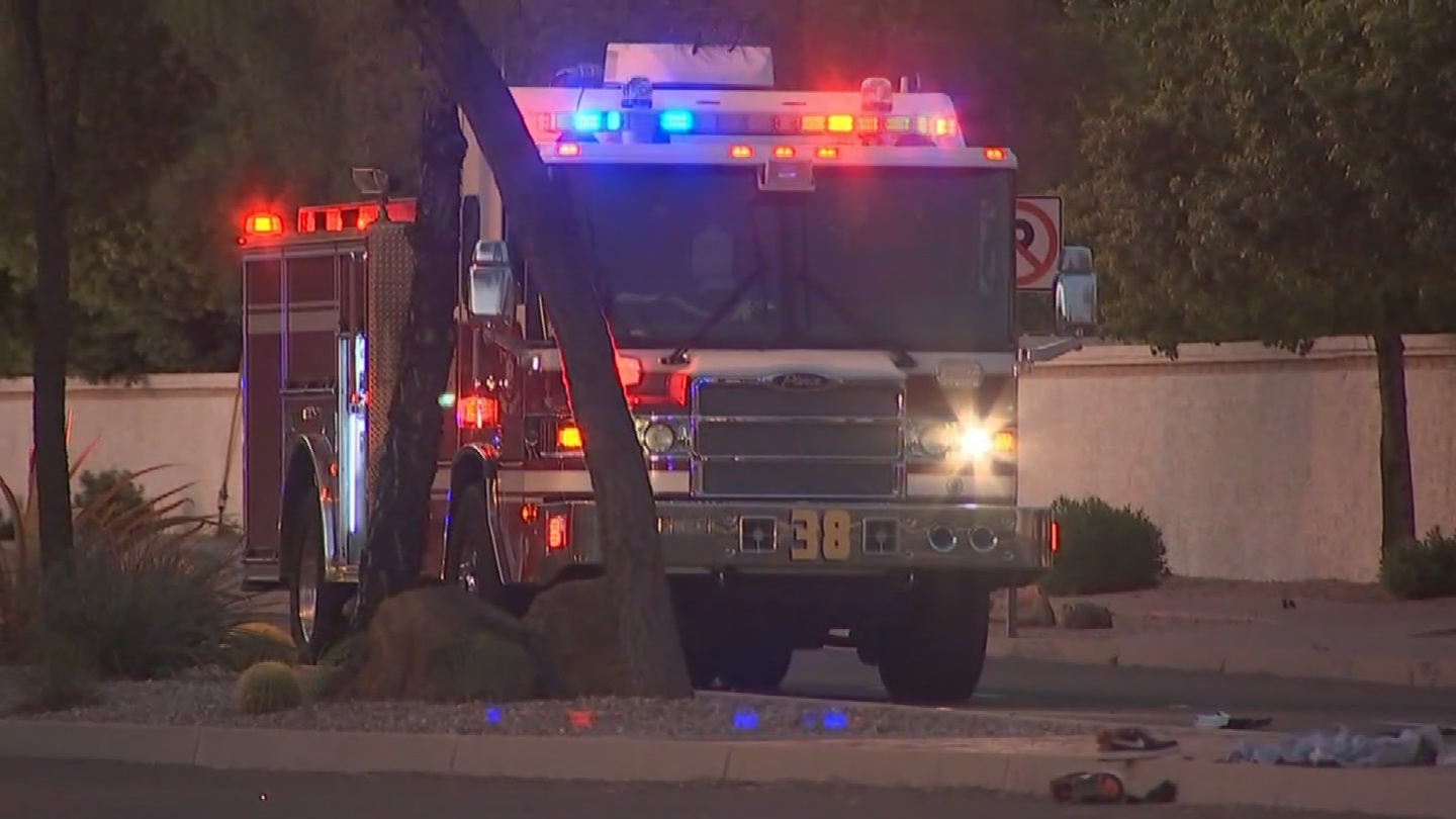 Police didn't say what led up to the crash or if alcohol or drugs were factors.(Source: 3TV/CBS 5)