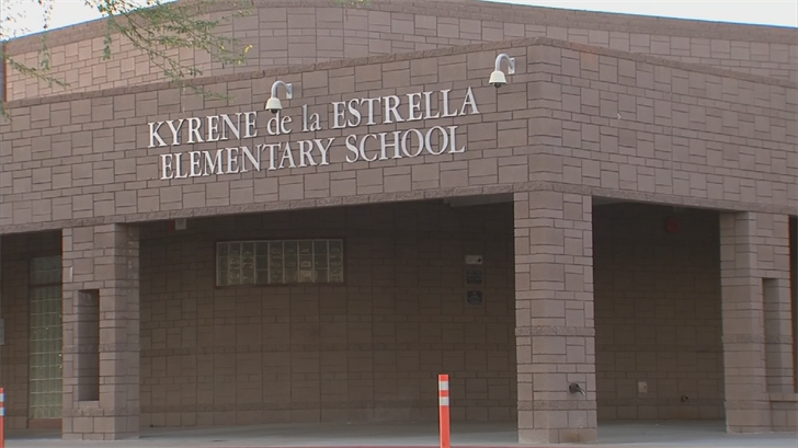 Anni was accused of vandalizing a bathroom at Kyrene de la Estrella Elementary School. (Source: 3TV/CBS 5)