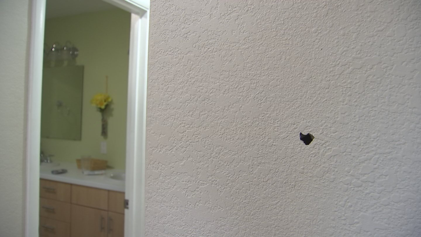 A Valley homeowner is speaking out after someone took aim at his home. (Source: 3TV/CBS 5)