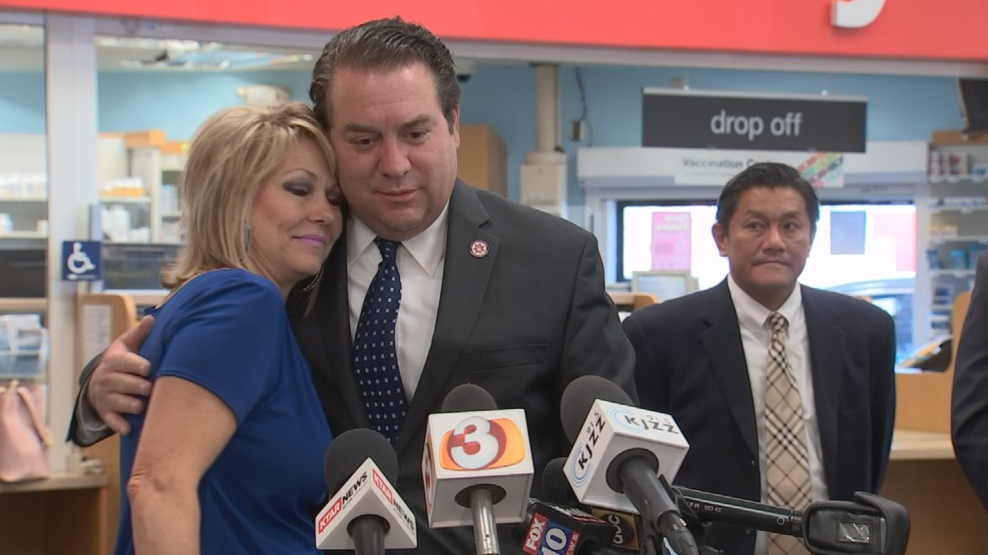 Cindy Sierzchula, whose 17-year-old daughter died of an OxyContin overdose, applauds the move, which was possible in part because of Arizona Attorney General Mark Brnovich. (Source: 3TV/CBS 5)