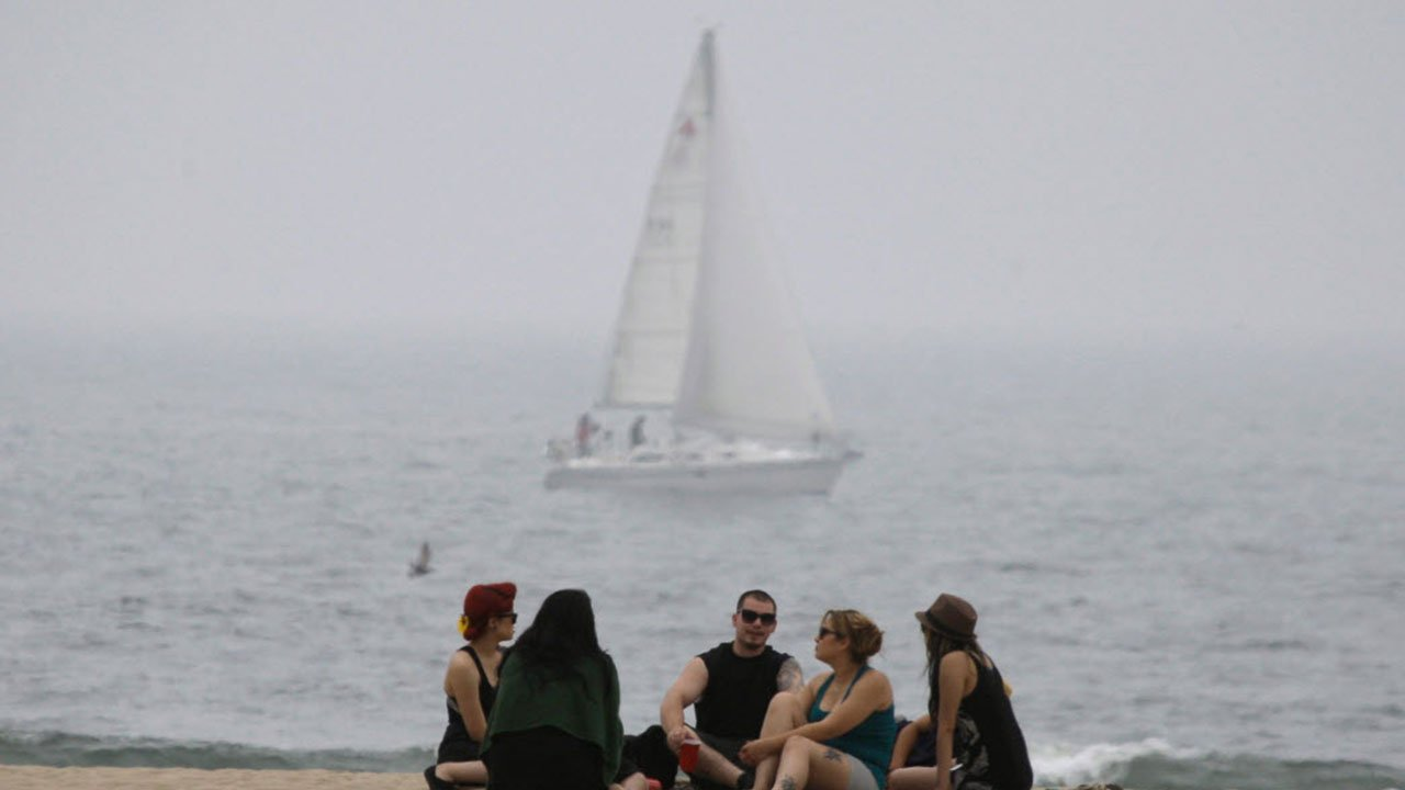 """An example of """"May Grey"""" in Southern California (Source: Associated Press)"""