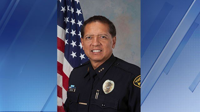 Tucson Assistant Police Chief Ramon Batista was announced as the Mesa Police Chief today. (Source: City of Mesa)