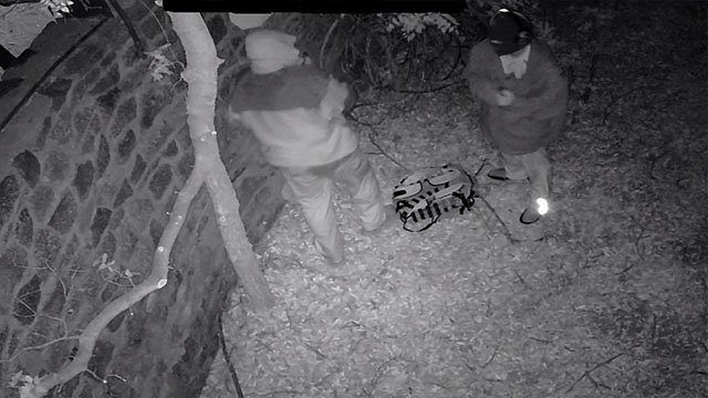 Thieves attempted to steal money from a church donation box in Yarnell. (Source: Yavapai County Sheriff's Office)