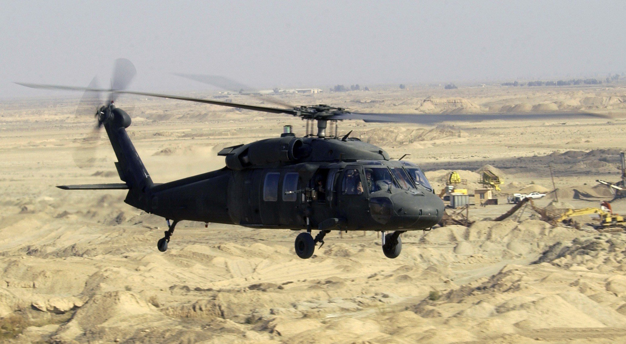 The operation will involve a UH-60 Blackhawk helicopter. (Source: Wikipedia.org)