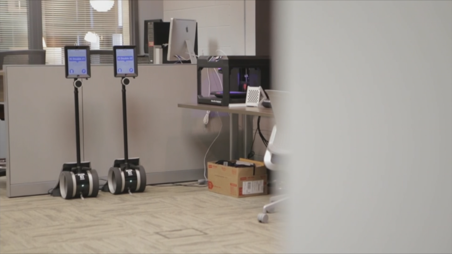 Students will have to sign up to have access to the robots. (Source: 3TV/CBS 5)