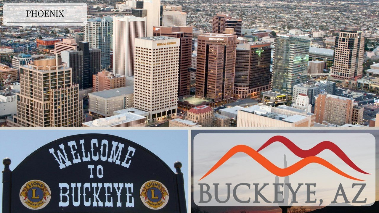 (Source: City of Phoenix, City of Buckeye)