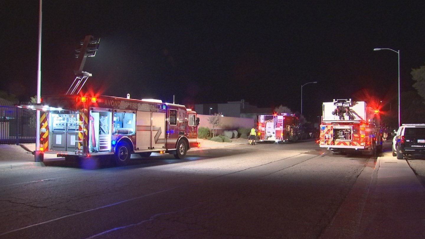 Firefighters extinguished the fire and no one was injured. (Source: 3TV/CBS 5)