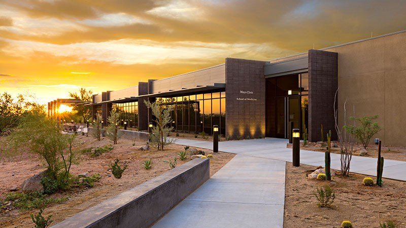 The Mayo Clinic School of Medicine in Scottsdale will open in July. The first class will have 50 students. (Source:  Mayo Clinic)