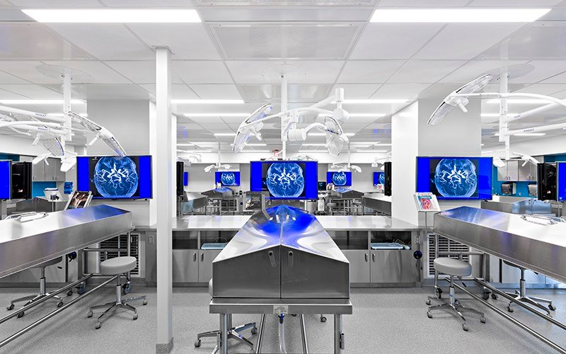 The Mayo Clinic School of Medicine in Scottsdale boasts new technology, including touch screens and interactive labs. (Source: Mayo Clinic)