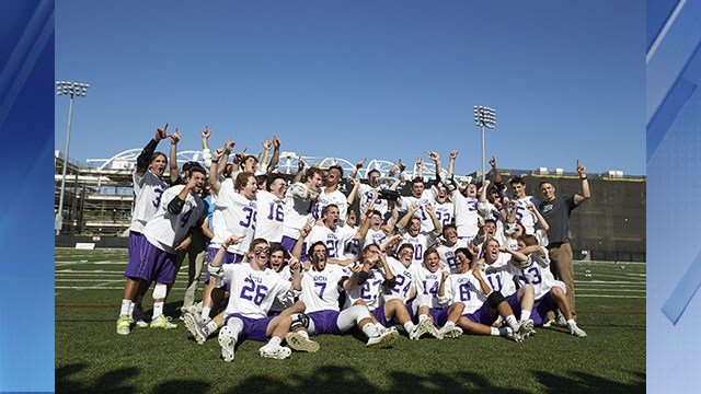 The Lopes claimed their second Men's Collegiate Lacrosse Association Division I championship in three years. (Source: GCU)