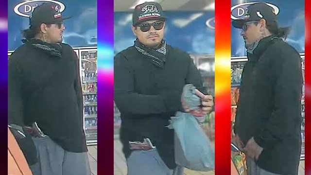 Police are looking for a man they say is behind six armed robberies. (Source: Silent Witness)