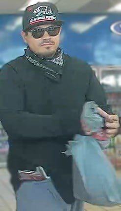 According to police, the suspect has robbed Circle K's and Filiberto's in mostly central and south Phoenix between March 27 and April 17, 2017. (Source: Silent Witness)