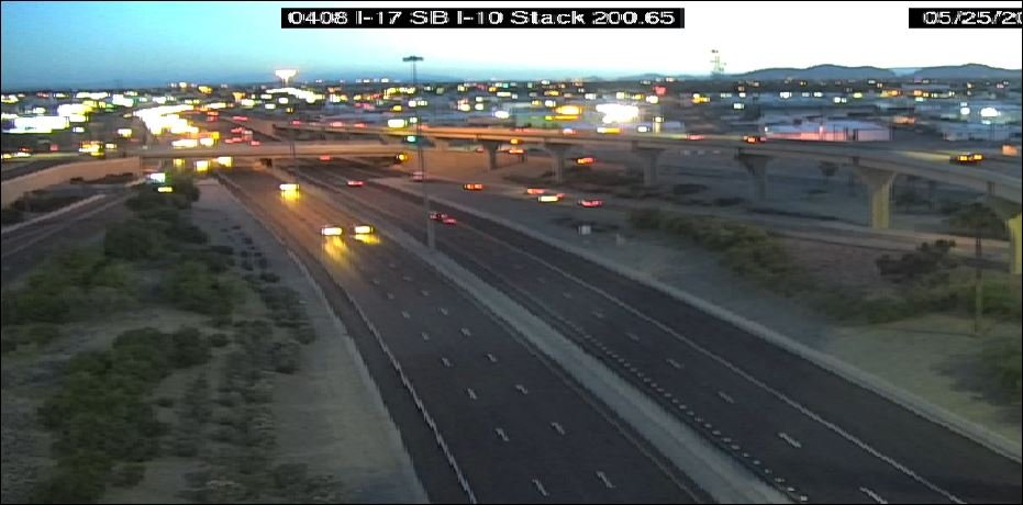 Interstate 17 in Phoenix. (Source: Arizona Department of Transportation)
