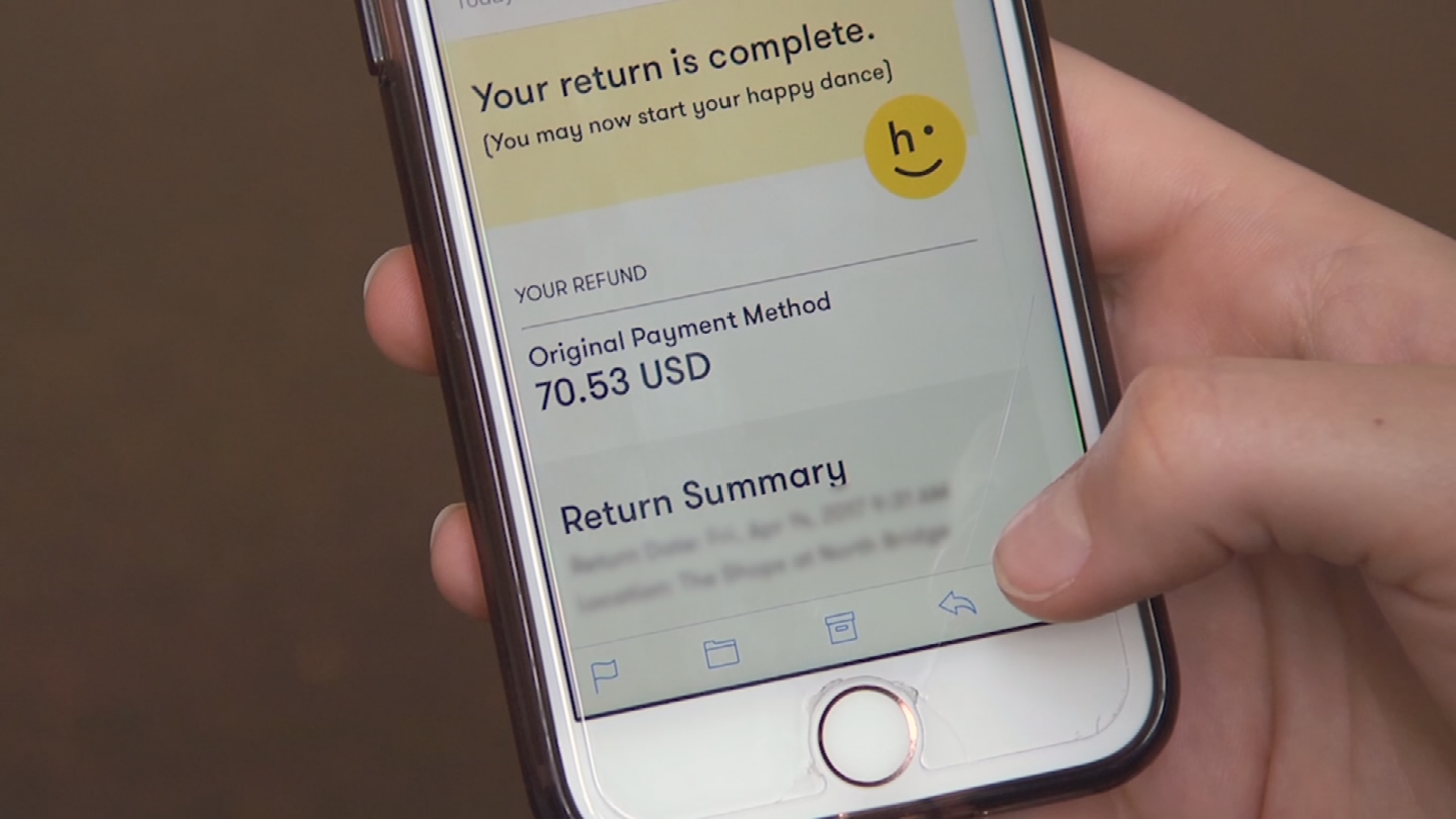 Companies are making it easier to return items. (Source: 3TV/CBS 5)