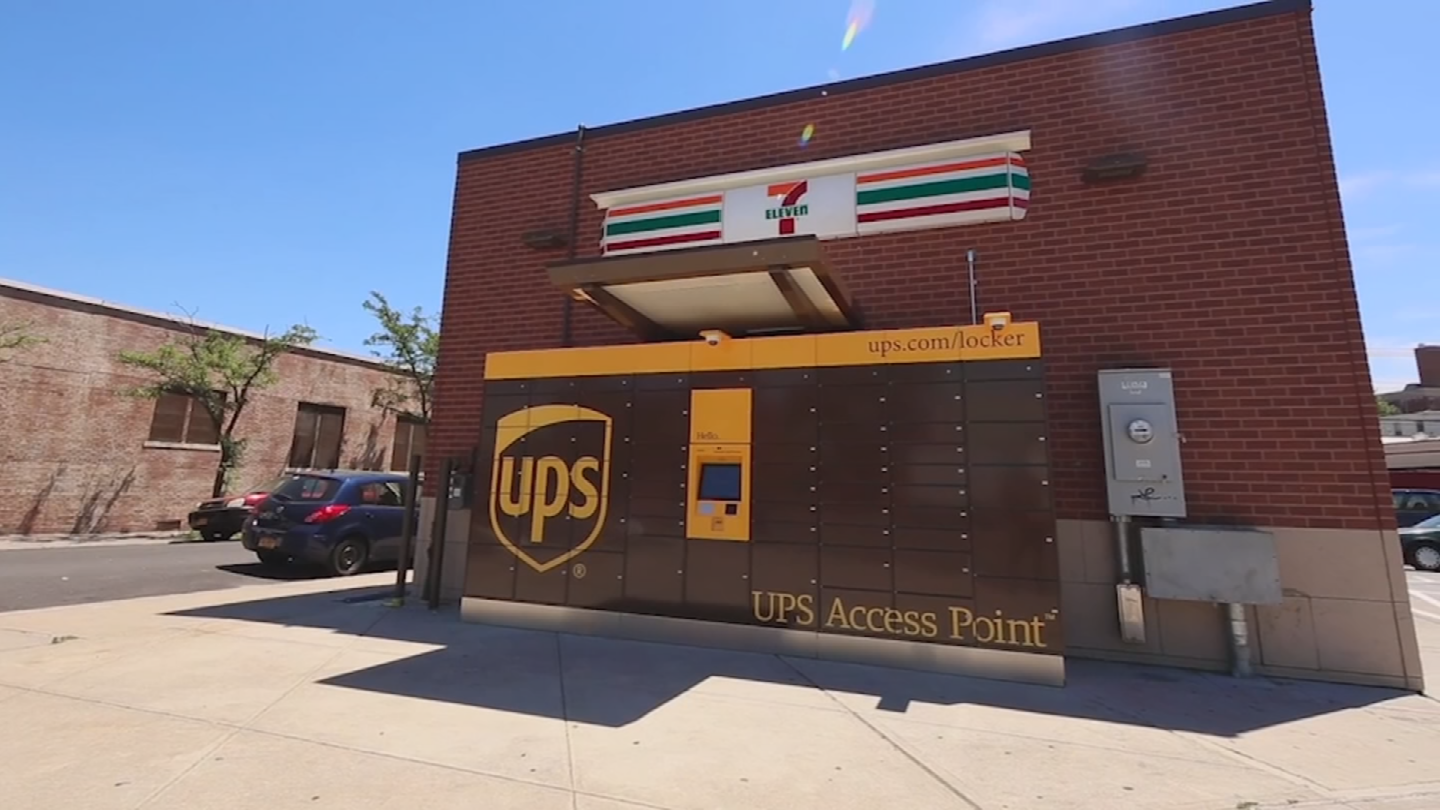 UPS also offers lockers and works with some merchants for free pickup. (Source: 3TV/CBS 5)