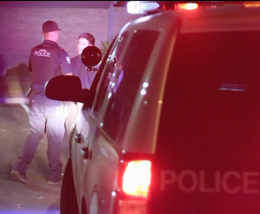 Peoria police officers conducting DUI task force(Source: Peoria Police Department)
