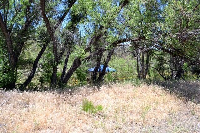 Scene where body was found (Source: Yavapai County Sheriff's Office)