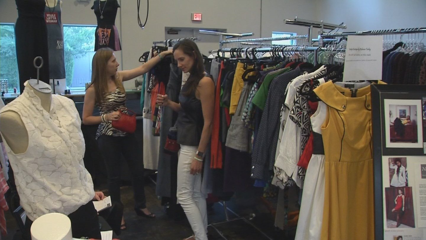 The Fashion and Business Resource Innovation Center (FABRIC) is usually used by those in the fashion industry, but this weekend it's open to the public. (Source: 3TV/CBS 5)