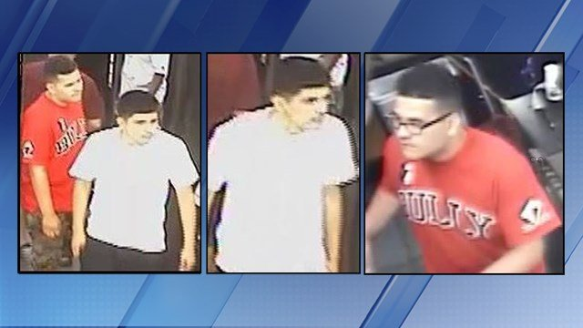 Police were searching for two men suspected of theft at a Circle K in Phoenix. (Source: Silent Witness)