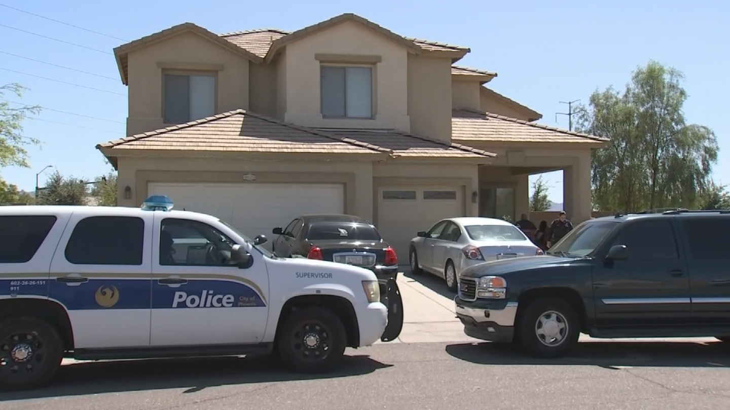 Police said a woman was stabbed during a family fight in Laveen. (Source: 3TV/CBS 5)