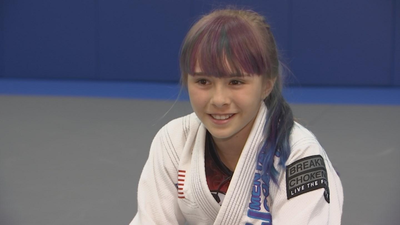 Kaitlyn Schmidt has been competing for 5 years. (Source: 3TV/CBS 5)