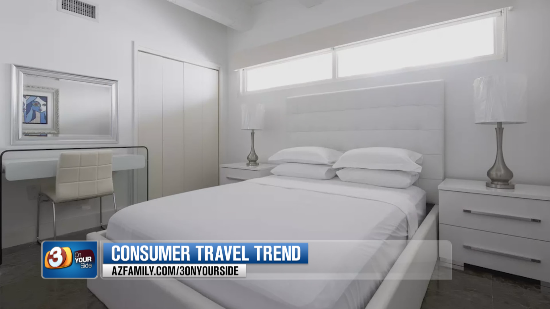 Some peer-to-peer rental sites now focus on a more hotel-like experience. (Source: 3TV/CBS 5)