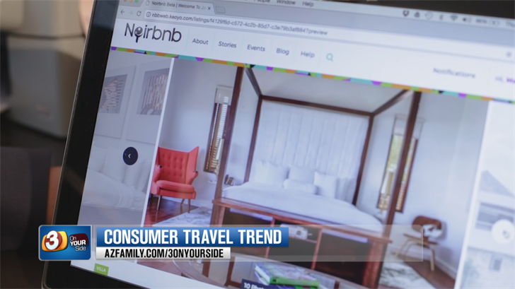 Anyone can use Noirbnb, but it's geared toward African American travelers. (Source: 3TV/CBS 5)
