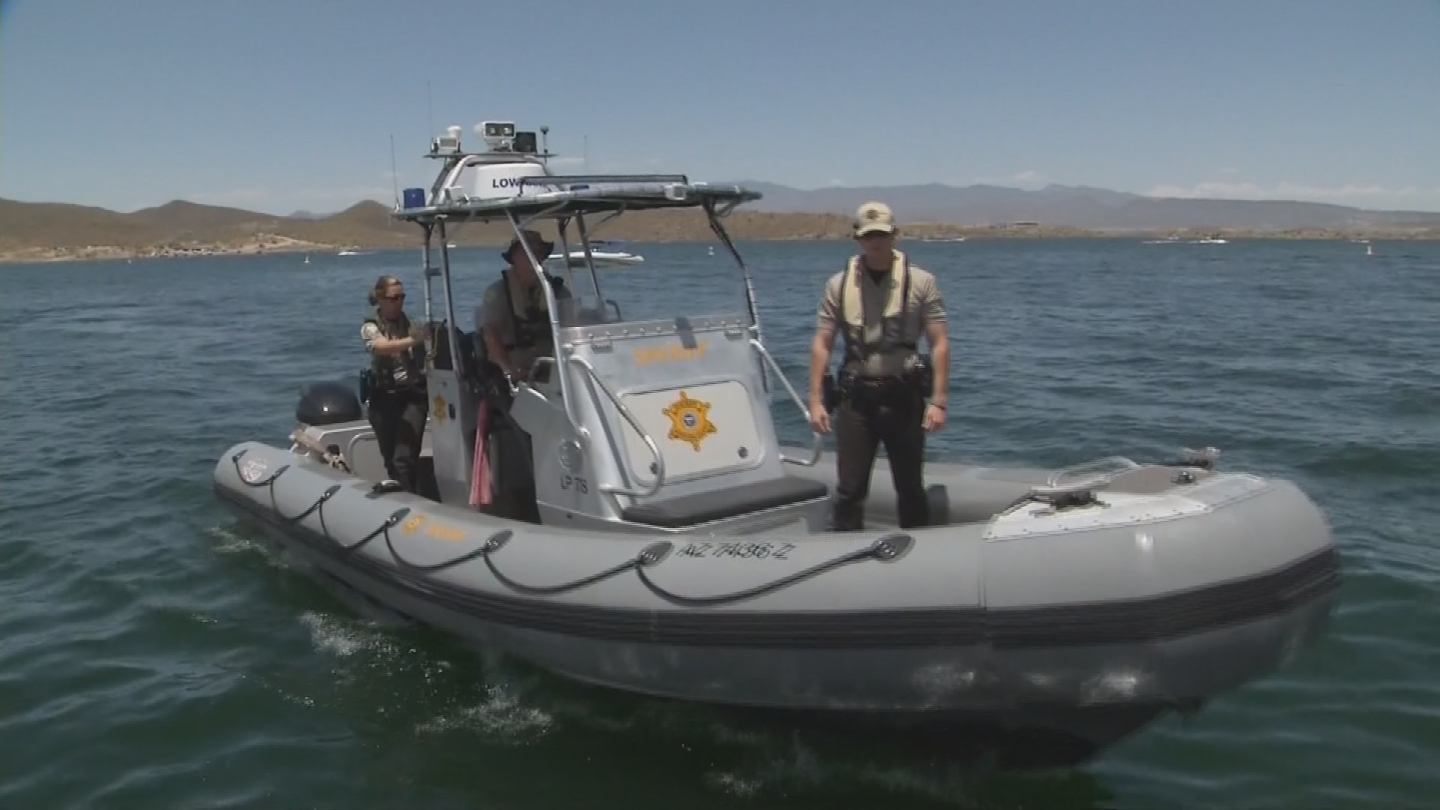 It was all hands on deck for the MCSO Lake Patrol. (Source: 3TV/CBS 5)
