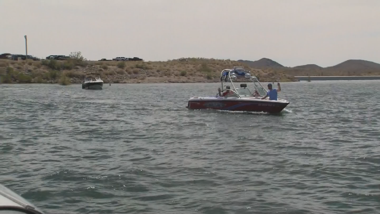 According to the regulars, the water level at Lake Pleasant was as high as it has been in a long time and people were out enjoying every drop. (Source: 3TV/CBS 5)
