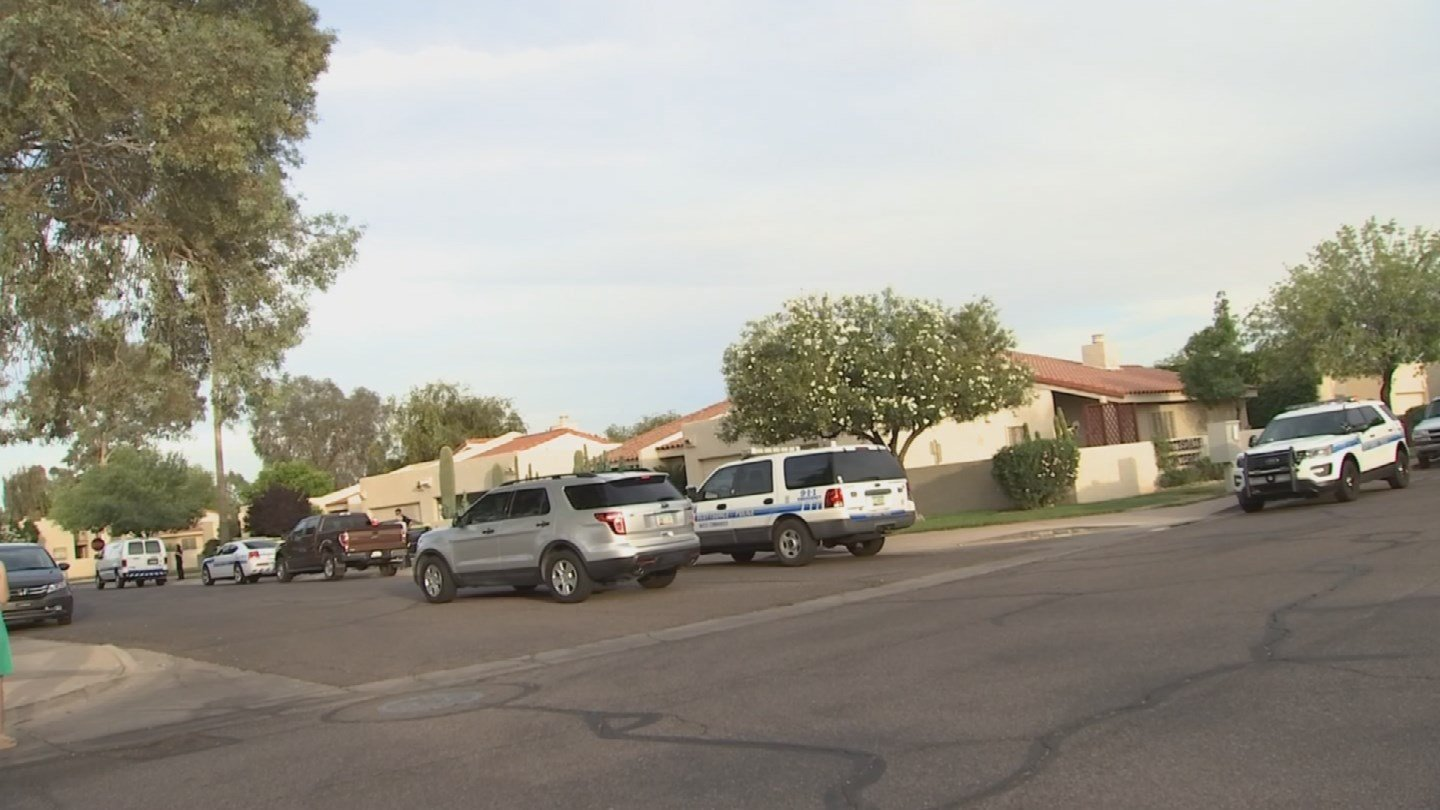 Two bodies were found in a home near 78th Street and Chaparral. (Source: 3TV/CBS 5)