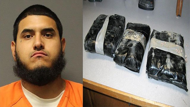 A YCSO deputy arrested 28-year-old Daniel Franco after he found drugs hidden inside the vehicle. (Source: Yavapai County Sheriff's Office)