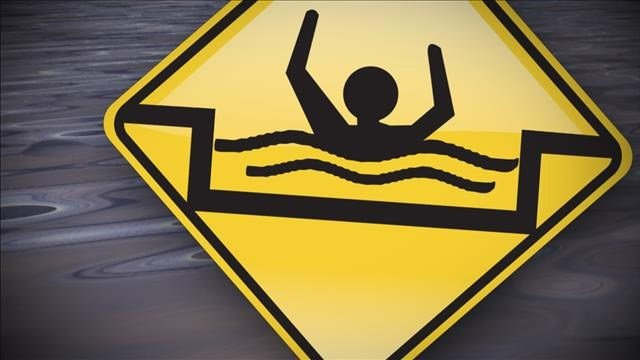 A man drowned at Beaver Falls after trying to enter a cave behind the waterfall. (Source: 3TV/CBS 5)