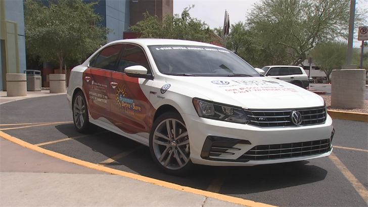 The United Blood Services is giving away a new car to encourage more people to donate blood. (Source: 3TV/CBS 5)