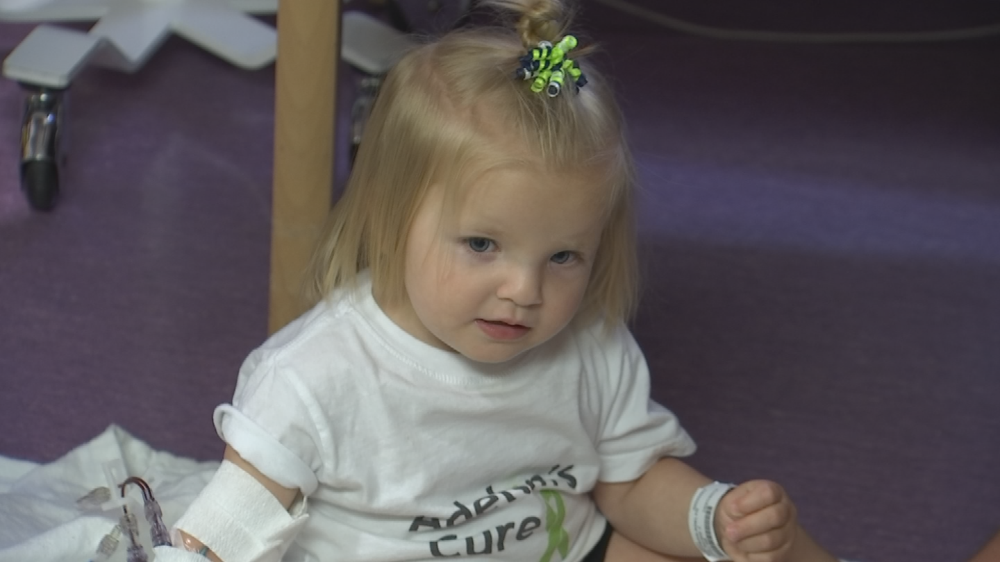 She has to get a blood transfusion every three to four weeks. (Source: 3TV/CBS 5)