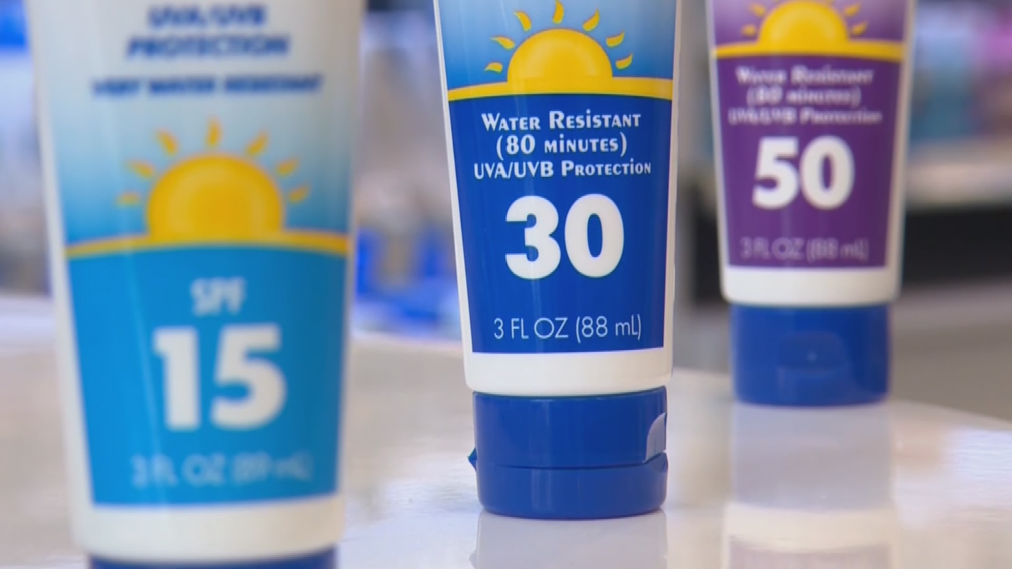 Doctors say wearing a big hat, reapplying sun block and wearing sunglasses early can dramatically reduce the chance of skin cancer. (Source: 3TV/CBS 5)