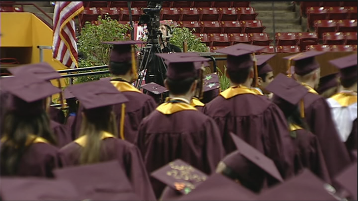 More than half of Arizona college graduates are currently saddled with loans. (Source: 3TV/CBS 5)
