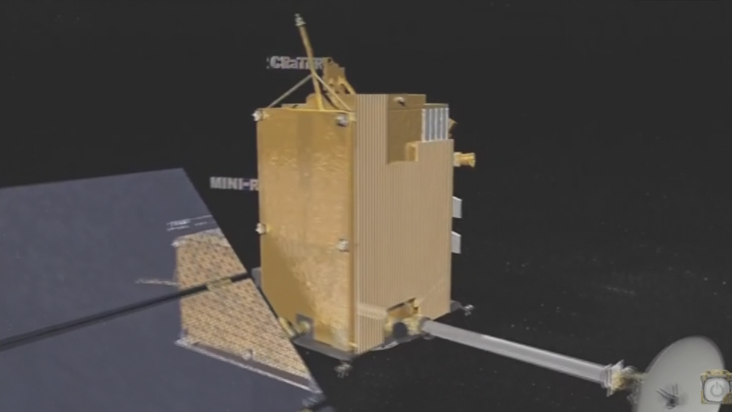 A space rock the size of a grain of sand hit ASU's orbiter. (Source: 3TV/CBS 5)