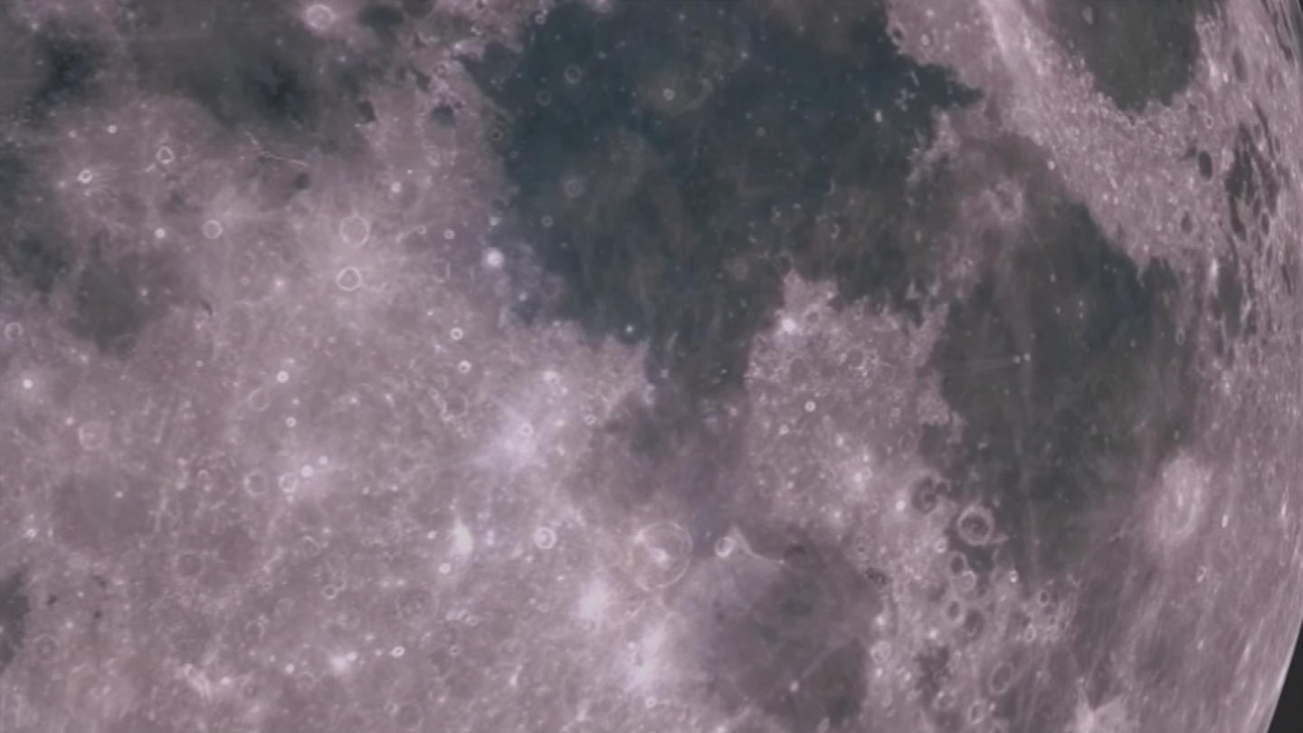The device is taking pictures of the moon's surface. (Source: 3TV/CBS 5)