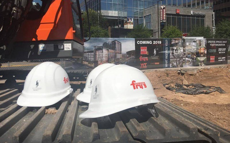 The Fry's Food Store will become part of a mixed-use project by RED Development. The project is set to be completed in 2019. (Source: Alyssa Hesketh/Cronkite News)
