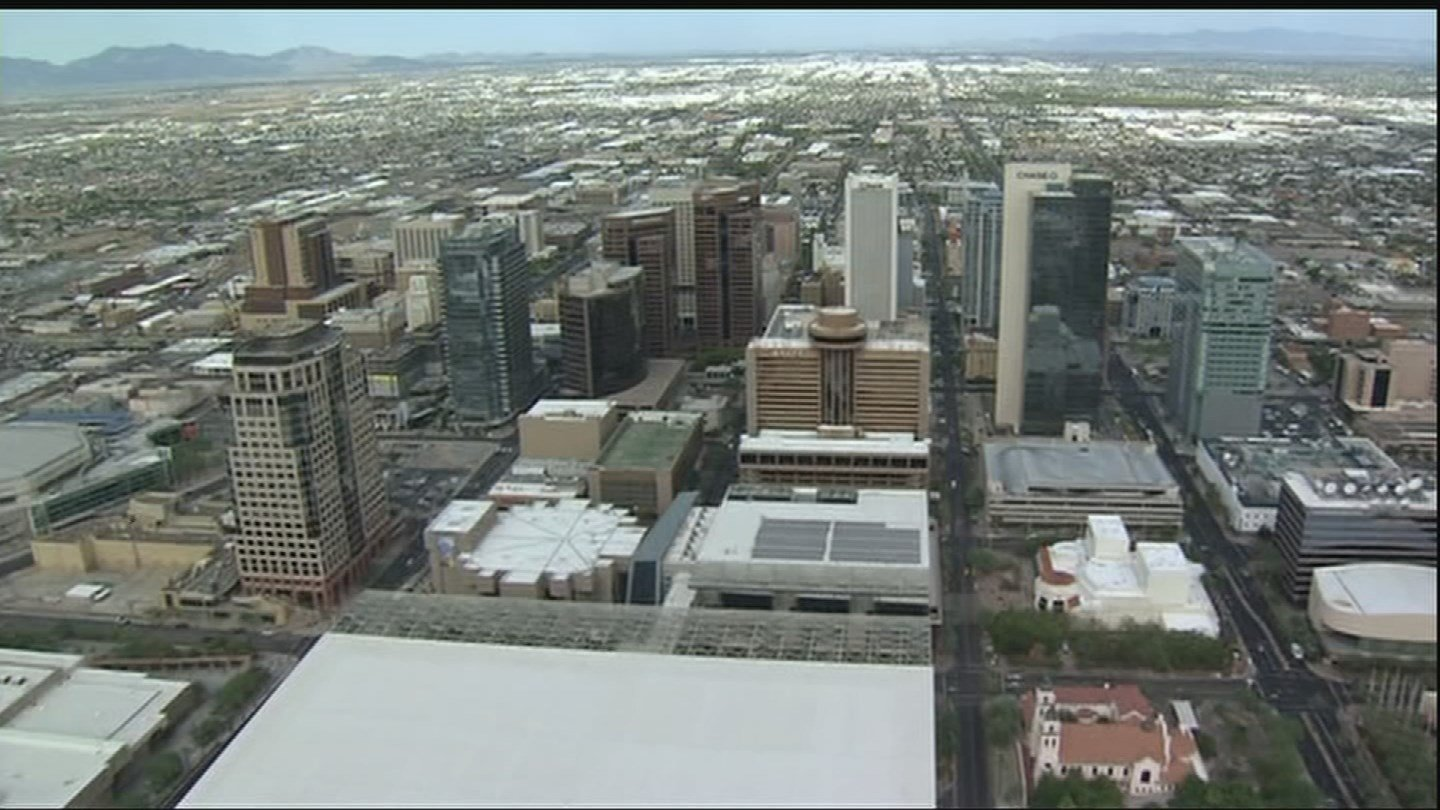Mayor Greg Stanton said Phoenix, and the Valley as a whole, are affected by climate issues more than almost any other region. (Source: 3TV/CBS 5)