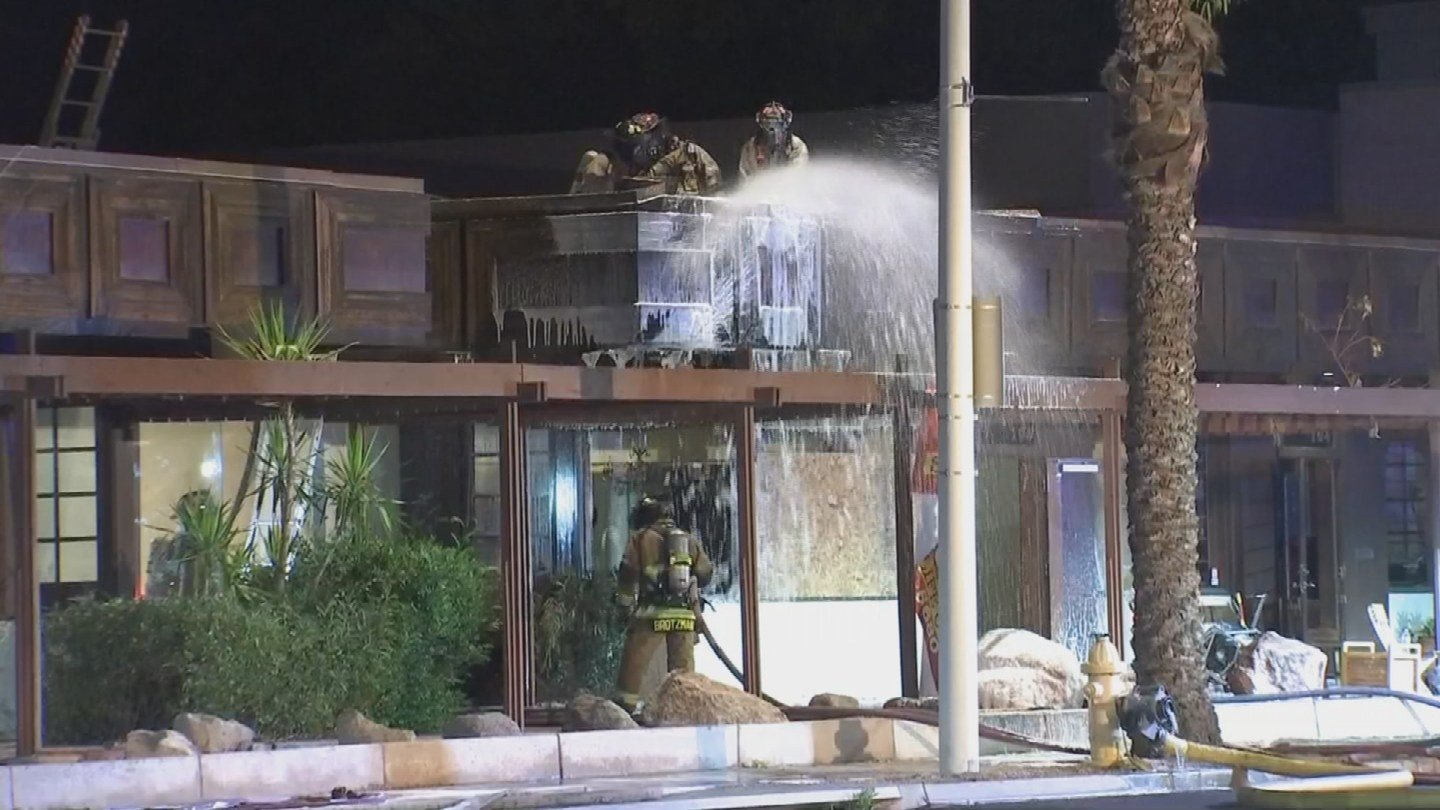 No one was injured and cause of the fire is still unknown. (Source: 3TV/CBS 5)