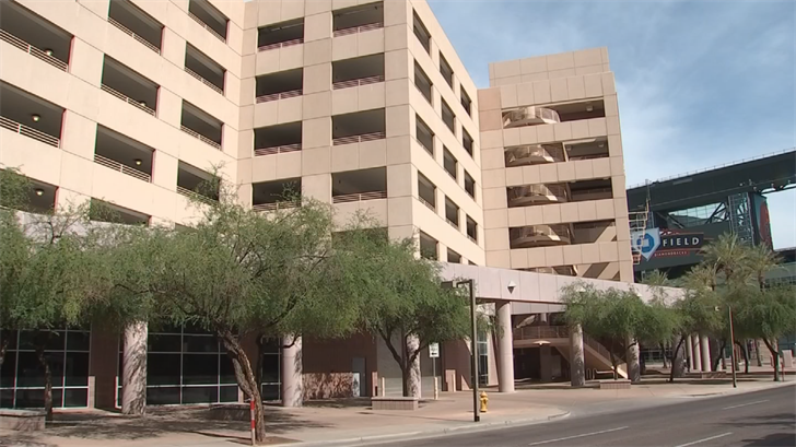 Quicken Loans is hoping to lease out 1,100 parking spaces in downtown Phoenix. (Source: 3TV/CBS 5)