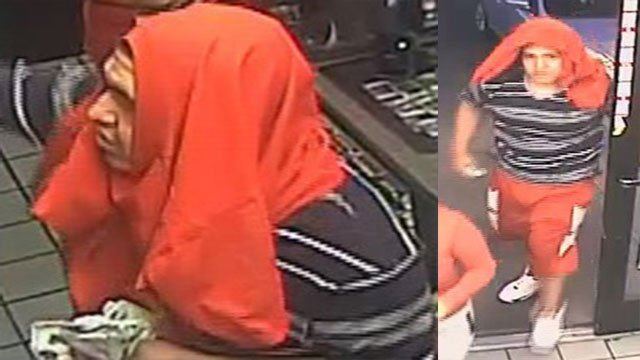 The armed robbery suspect threatened a Circle K employee that he'd stab her if she called police. (Source: Silent Witness)