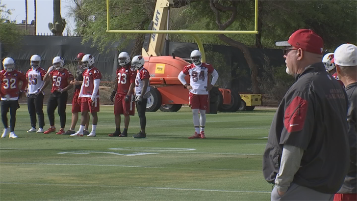 Cardinals Head Coach Bruce Arians says the team is working on mental toughness in OTAs. (Source: 3TV/CBS 5)