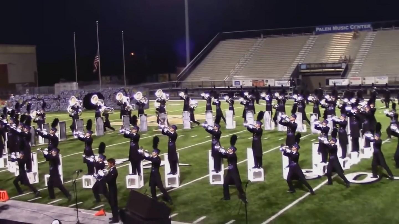 Arizona Academy Drum and Bugle Corps performs.  (Source: 3TV/CBS 5)