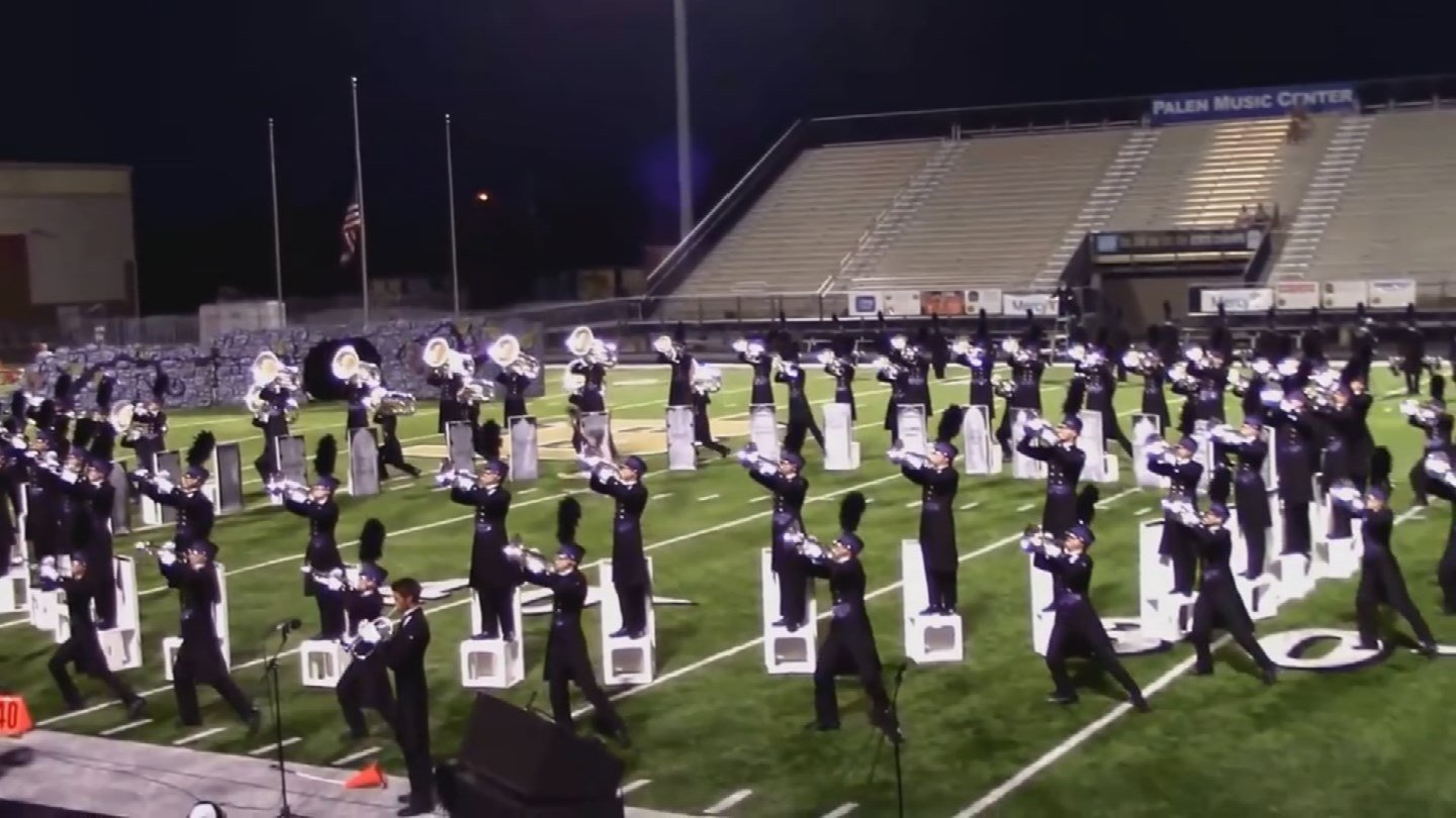 Arizona Academy Drum and Bugle Corps performs.  (Source: 3TV/CBS 5)