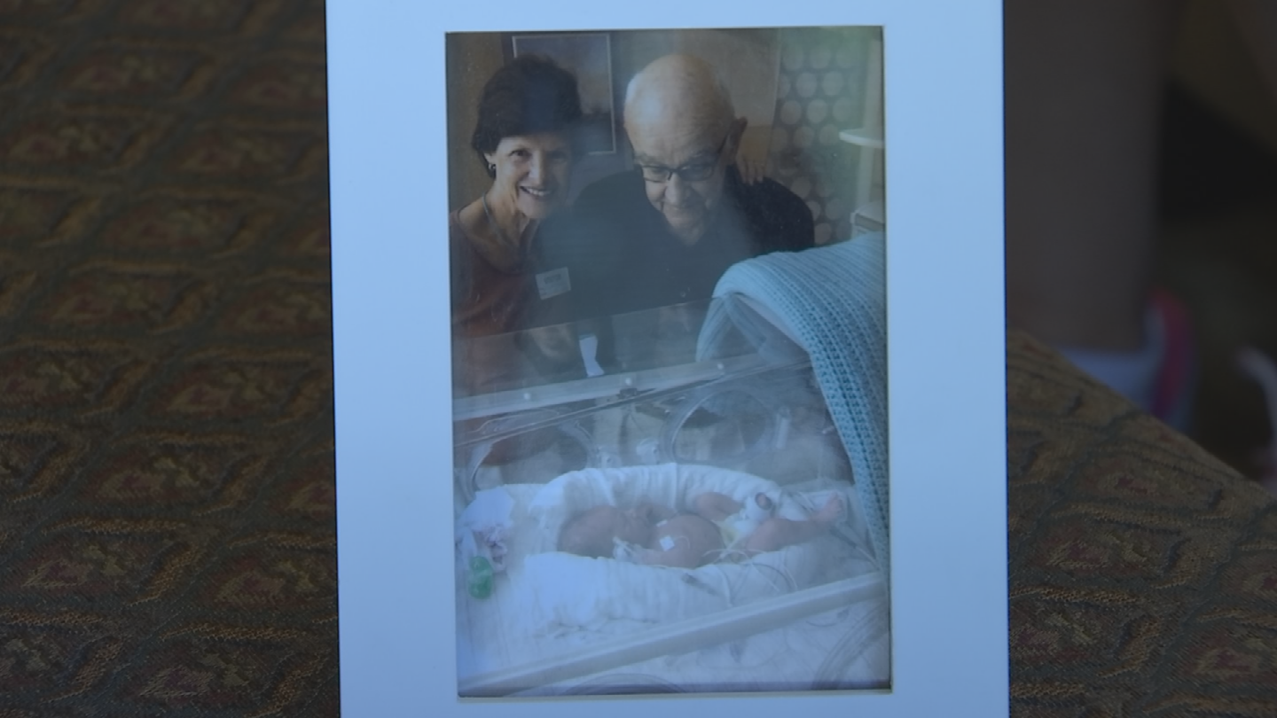 Her son was in the NICU for 13 days. (Source: 3TV/CBS 5)